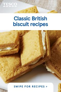 Biscuit tin looking empty? Get baking and fill it up with one of our classic British biscuit recipes, from traditional custard creams to fiery ginger nuts and sweet homemade jammy dodgers. British Biscuit Recipes, British Baking Show Recipes, British Bake Off Recipes, Baking Recipes, Snack Recipes, Scottish Recipes, Cookie Recipes, English Biscuits, British Biscuits