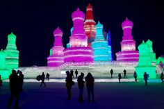 Reposting The world's largest ice & snow festival kicks off this year on the Dec!❄ Harbin should definitely be one of your stops if you are planning to spend your Winter holidays in China! Harbin, Beijing, Shanghai, In China, China Destinations, Hongkong, Visit China, Snow Sculptures, Wayfarer