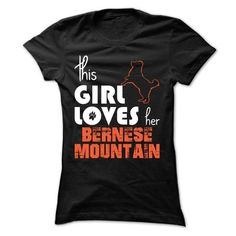 This Girl Loves Her Bernese Mountain - #design t shirt #customized sweatshirts. LOWEST SHIPPING:  => https://www.sunfrog.com/Pets/This-Girl-Loves-Her-Bernese-Mountain-fijir-Ladies.html?id=60505