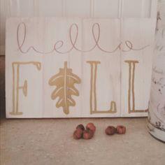 """Hello cutest #target sign ever. #readyforfall #ilovefall #targetdollarspot #okiobdesigns"""