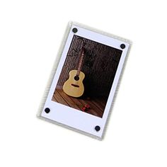 CLOVER Acrylic 3 Inch Magnetic Fridge Magnets Photo Frame for Fujifilm Instax Mini 7s 25 50 mini8 Instant Films - Brought to you by Avarsha.com