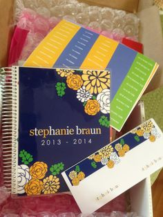 Love this erin condren life planner.  want one!!