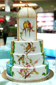 Bolos,cakedesign,pasgelpan,cakes,painting