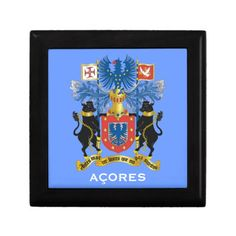 Azores* Islands Jewelry Box Caixa dos Acores