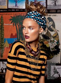 when mixing patterns works #fashion