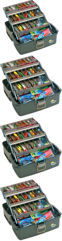 Tackle Boxes and Bags 22696: Fishing Tackle Box Lures Lines Hooks Bait Fish Case Fishing Accessories Tool BUY IT NOW ONLY: $43.03