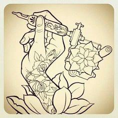 Tattoo gun Tattoo flash | tattoos picture tattoos guns
