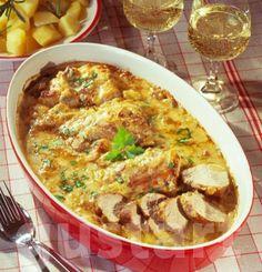 Receptek Lajos Mari konyhájából - Mustáros szűzpecsenye
