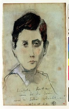 Horst Janssen -- Marcel Proust