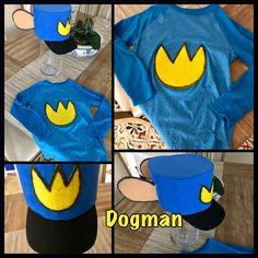 Dogman Costume #Dogman #DavPilkey #favoritebook #mykidlovestoreaddogmanbooks