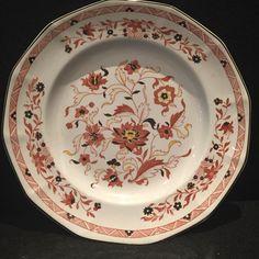 Vintage / Kashmar 10\  Dinner Plate / Wedgwood / Vintage Plate / Kitchen Plate / Wedgwood Plate / Etruria and Barlston / Made in England & Vintage / Oval / S. Hancock and Sons / Corona Ware / Oval Platter ...