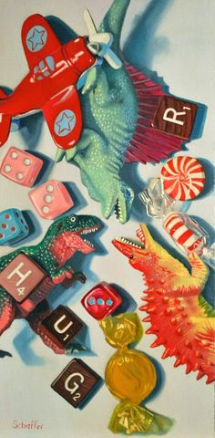 Schule Ideen Praxis John Schieffer Contemporary Still-Life Painting: Mini Dino Jumble 2013 Decorate Still Life Drawing, Painting Still Life, Nails Inc, Dutch Still Life, Still Life Artists, Irving Penn, Object Drawing, Still Life Photography, Glass Photography