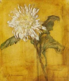 Piet Mondrian Flowers   Other works in Painting