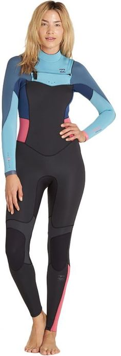 Billabong Synergy 4 3 Chest-Zip Full Wetsuit - Women s 7ab15bf56