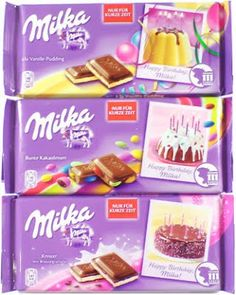 Milka, Milka and more Milka ... see how they are celebrating their 111th birthday on www.chcocolatemission.net