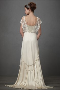 Lita Gown by Catherine Deane at BHLDN - Back view