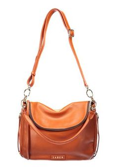 Saben Frankie Paprika Leather Handbag Cross-body New Zealand