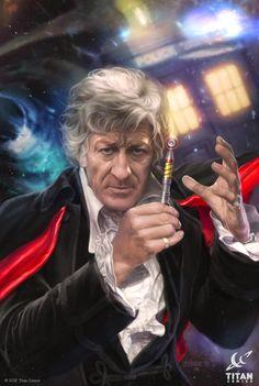 ArtStation - Doctor Who for Titan, the 3rd Doctor, Josh Burns