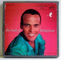 Harry Bellafonte 10 Record Boxed Set 45 EPs 1956 RCA Victor Vintage SPD-24