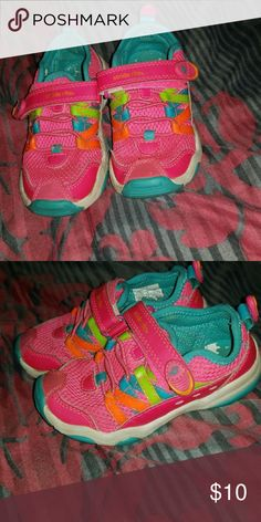 Toddler girls 8.5 stride rite shoes Used great condition from Stride Rite Shoes