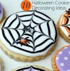 Instead of black webbing, use different colors like purple, orange, blue, etc. Can be for anything beside Halloween. Halloween, Crack Crackers, Sweet Pastries, Halloween Labels