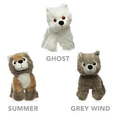 Game of Thrones Direwolf Pup Plush