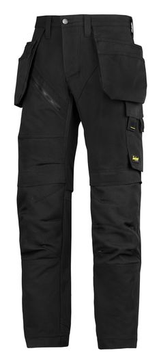 These are new #RuffWork heavy-duty work trousers for tough work. Modern design with amazing fit and reinforced functionality. Features Cordura® 1000 reinforced knee protection, built-in ventilation, holster pockets and stretch gusset in crotch for hardwearing comfort at work. #newgenerationtrousers - Snickers Workwear Artnr. 6203