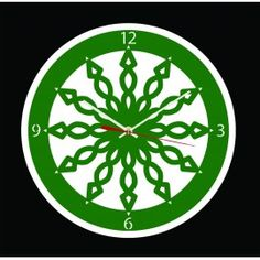 """L'horloge """"Ressort"""" est une horloge murale avec un esthétique dynamique. Cette horloge découpée au laser avec précision est équipée d'un mouvement à quartz précis ultra silencieux, de deux aiguilles, d'une trotteuse et d'un crochet de suspension. Plusieurs couleurs disponibles."""