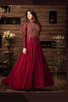 Look a like diva in event by wearing this #anarkali #Gown ️Shop Now Call / Whatsapp - 0-72111-67111 #onlineshooping #Dress #Salwar #fashion #salwarkameez #gowns #designers #bridalgown #onlineshopping #onlineboutique #malaysia #salwarsuits