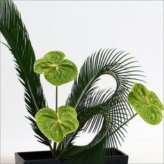 Green Ikebana