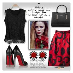 """Banggood 10/4"" by e-mina-87 ❤ liked on Polyvore featuring Christian Louboutin and Darya London"