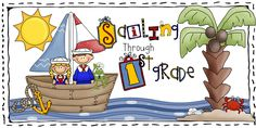 AMAZING resources for nautical themed classroom