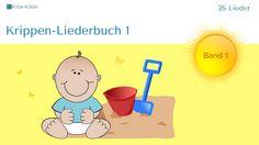 """""""Krippen-Liederbuch 1"""" - 26 Lieder - A4-Ausdruck - per Mail zum Download - SHOP: www.kitakiste.jimdo.com/shop/noten/"""