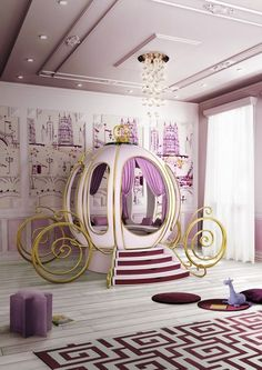 Adorable 30 Pretty Princess Bedroom Design And Decor Ideas For Your Lovely Girl. Baby Bedroom, Girls Bedroom, Bedroom Decor, Bedroom Ideas, Kid Bedrooms, Bedroom Themes, Home Decor Instagram, Princess Room, Pink Princess