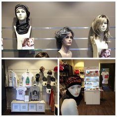 La boutique Rose comme Femme Perruques, bonnets, turbans...