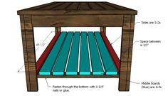 Build an Outdoor Coffee Table, Hamptons Outdoor Table Collection Coffee Table Plans, Outdoor Coffee Tables, Coffee Table Design, Concrete Sink, Bed Plans, Outdoor Furniture, Outdoor Decor, Woodworking Plans, The Hamptons