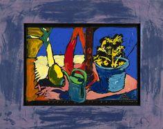 Boris Jirků - Zátiší na studni - Galerijní ulice - Ostrava -Moravskoslezský kraj Ulice, Painting, Art, Painting Art, Paintings, Kunst, Paint, Draw, Art Education