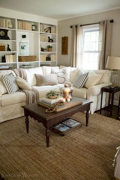 Adorable Cozy And Rustic Chic Living Room For Your Beautiful Home Decor Ideas 138