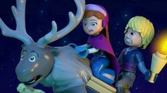 Hang on! The LEGO Disney Frozen Northern Lights TV special is coming to Disney Channel on December at Olaf Frozen, Disney Frozen, Lego Frozen, Frozen Ever After, Frozen Merchandise, Frozen Pictures, Cute Princess, Lego Disney, How To Train Your Dragon