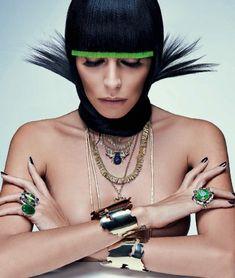 Lea T by Zee Nunes for Vogue Brazil April 2014