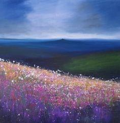View To Brentor (Print) | Laure Bury