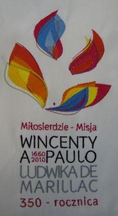 haft na stułach okazjonalnych Wincenty a Paulo, Ludwika de Marillac