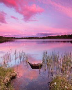All sizes | Sunset at Midtre Djupetjørn | Flickr - Photo Sharing!