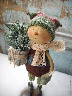Merry Christmas everyone! Primitive Christmas, Country Christmas, Christmas Snowman, Winter Christmas, All Things Christmas, Vintage Christmas, Christmas Holidays, Christmas Decorations, Christmas Ornaments