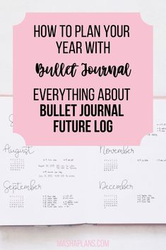 Bullet Journal Future Log is a great way to plan the year ahead. Learn here how to use and setup a future log that works best for you. Bullet Journal Cheat Sheet, Bullet Journal Work, Bullet Journal How To Start A, Bullet Journal Layout, Bullet Journal Inspiration, Bullet Journals, Journal Ideas, Bullet Journal Printables, Journal Template