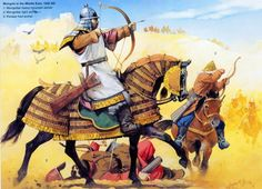 Historical Warrior Illustration Series Part XVII