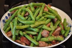 Stir-Fried Pork with Green Beans
