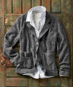 df54b3071f3 Effortlessly Cool Women s Jackets - Ecole Blazer - Carbon2Cobalt Work  Jackets