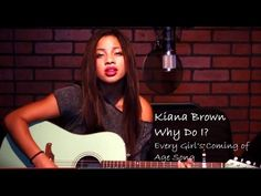 http://www.youtube.com/watch?v=H1aHFeE5I1Q - Kiana Brown Kiana Brown comes alive in her new original song Why Do I after capturing a following from around the world with her youtube smash cover of Miley Cyrus Wrecking Ball. Kiana Brown has looked to Tori Kelly as a role model and often does live covers without use of autotune. Kiana is just 16 years old but has written a heartfelt song that any age group can relate to. https://www.facebook.com/bestfiver/posts/1419935084886129