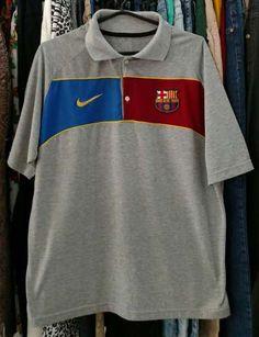 Camiseta polo da Nike Barcelona Usada Original Marca Tam GG Mas para que  não fique duvidas 2b56575ca16e6